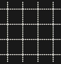 abstract square grid geometric seamless pattern vector image