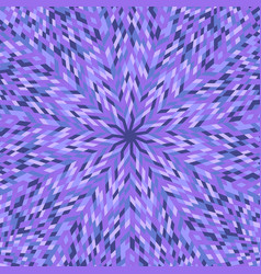 Dynamic geometrical colorful circular mosaic vector