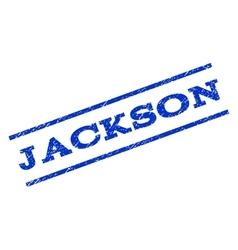 Jackson Watermark Stamp vector