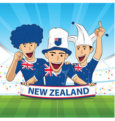 New zealand football support vector
