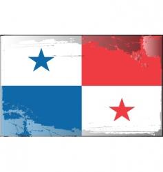 Panama national flag vector image
