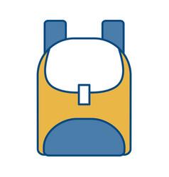 School backpack icon vector