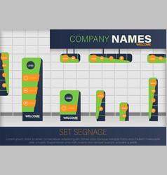 Set signage vector