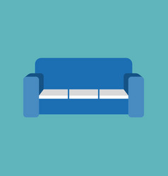 sofa icon vector image