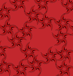 Texture for curtains vector image