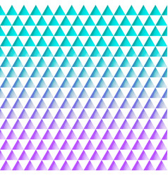 seamless pattern triangles turquoise pink pattern vector image