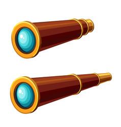spyglass icon vector image