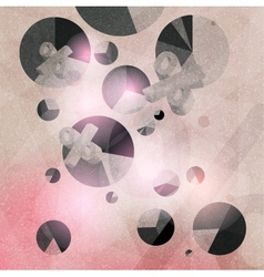 abstract texture geometric background vector image vector image