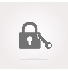 Lock icon lock icon lock icon picture vector image