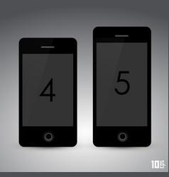 phone set vector image