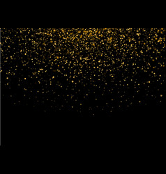 shiny star burst light with gold luxury sparkles vector image