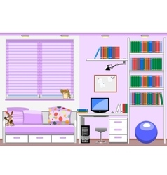 childrens room vector image