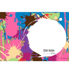 Abstract color vector image