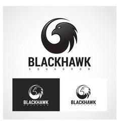 hawk symbol vector image