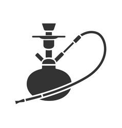 hookah glyph icon vector image