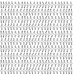 Loops and dot seamless pattern vector