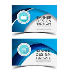Multipurpose layout banner design3 vector