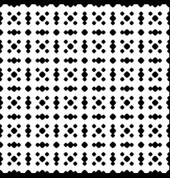 polka dot seamless pattern black white subtle grid vector image