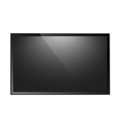 tv screen isolated vector image