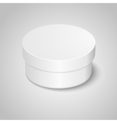 Cosmetic bottle for cream vector image vector image