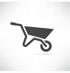 garden cart vector image