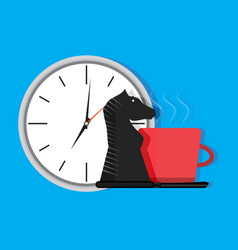 strategy of time vector image vector image