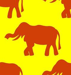 Background elephant vector