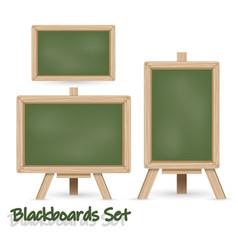 blackboard set vector image