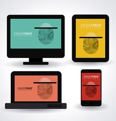 FingerPrint design vector