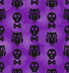 Halloween Abstract Seamless Texture vector image