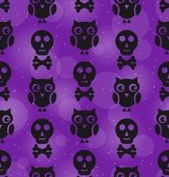 Halloween abstract seamless texture vector