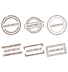 Handmade stamps vector