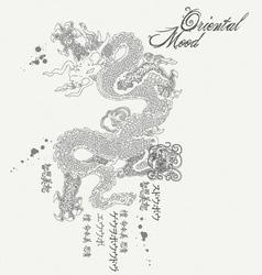 Oriental mood vector