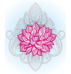 oriental style vector image