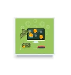 Pay Per Click Poster vector