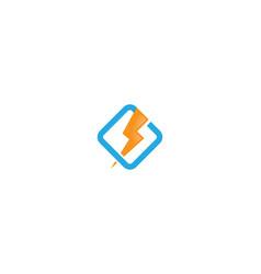 Thunderbolt logo vector