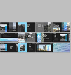 travel concept presentations design portfolio vector image