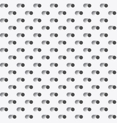 vent holes perforated surface or grater dots vector image