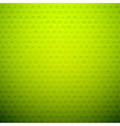 Green metal or plastic texture with holes vector image vector image