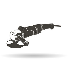 grinder auto monochrome vector image