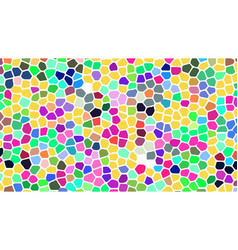 abstract background imitating stained glass vector image