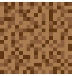 Abstract block texture brown Pixel vector image
