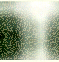 Abstract green circles military square pattern vector