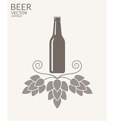 Beer Vintage vector image vector image