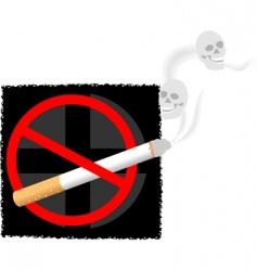 Cigarette symbols vector