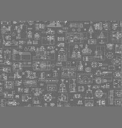 engineering backgrounds mechanical vector image