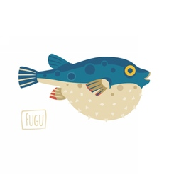 Fugu vector image