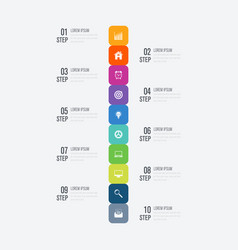 Infographic design template and business concept vector