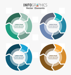 infographics 0008 vector image