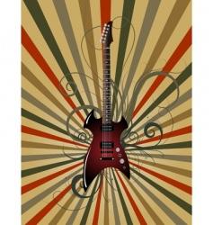 musical grunge vector image
